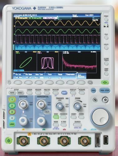 Nuevas posibilidades de memoria y de firmware para el Osciloscopio Mixto DLM2000 de Yokogawa.