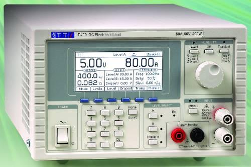 Carga Electrónica DC LD400P de Aim-TTi 600W /80V / 80A programable