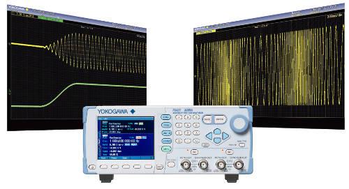 Generador arbitrario/de funciones que combina un manejo intuitivo con funciones de barrido y modulación integrales
