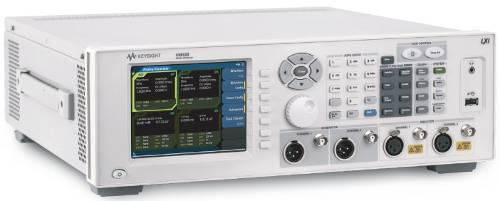 Analizador de audio de alto rendimiento U8903B con opciones de análisis de la calidad de la voz y amplio ancho de banda