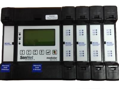 Sistema SenNet Meter Modular para monitorizar hasta 60 consumos monofásicos o 20 trifásicos en un mismo equipo