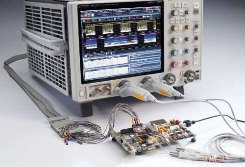 Osciloscopios Infiniium Serie V con modelos de 8 GHz a 33 GHz