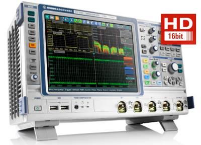 Osciloscopios R&S RTE con ancho de banda hasta 2 GHz