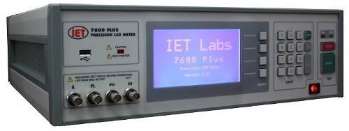 Medidor de impedancia de precisión 7600 Plus