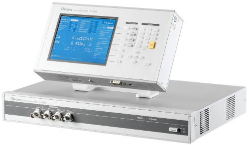 Medidor de LCR Chroma 11050 para pruebas de inductancia, capacidad, resistencia, factor de calidad y factor de pérdidas