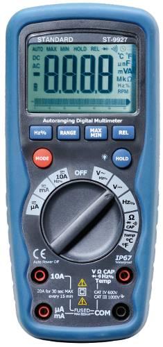 Multímetro ST9927T auto-rango e IP67