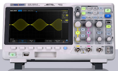 Osciloscopios SIGLENT SDS1000x con tecnología Super Phosphor