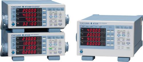 Nueva familia de medidores de potencia Yokogawa WT300E mejorados