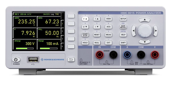 Analizador de potencia para mediciones hasta 100 kHz