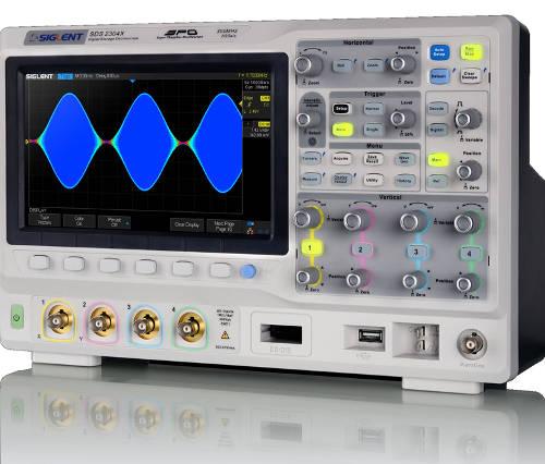 Osciloscopios con tecnología Super Phosphor Oscilloscope