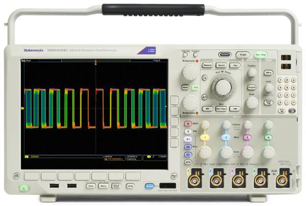 Osciloscopio de dominio mixto Tektronix MDO4000C