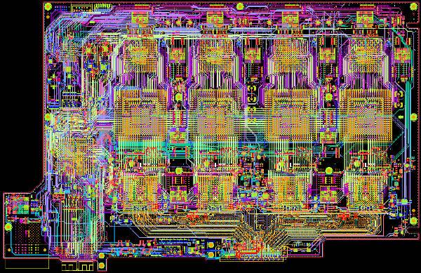 Chipsets para osciloscopios de tiempo real y de tiempo equivalente con anchos de banda de más de 100 GHz