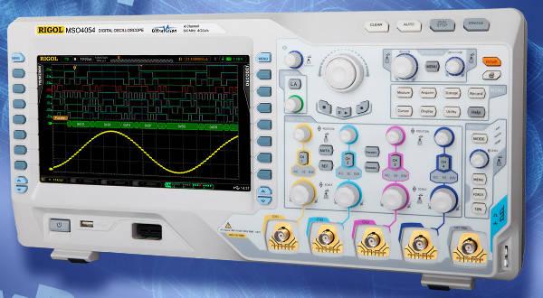 Osciloscopio con CAN, LIN y FlexRay para automoción
