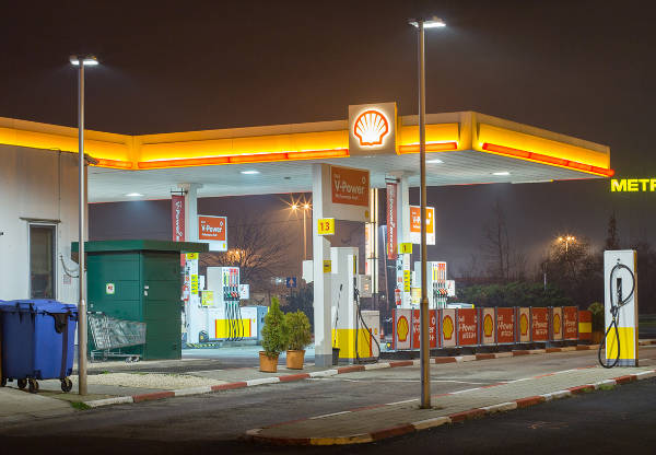 shell petrol station 12 w