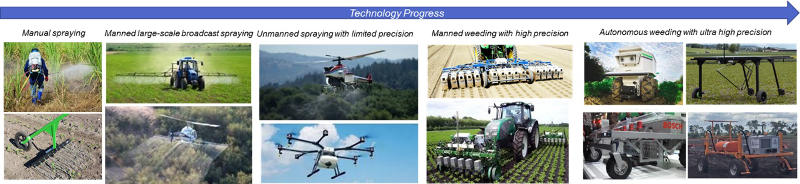 agri robots spraying w