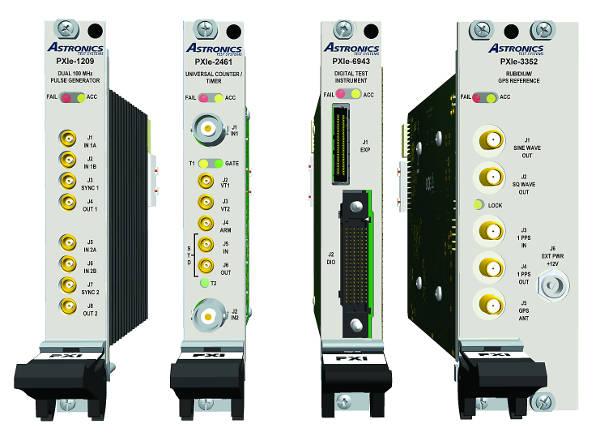 Conjunto de instrumentos de PXI para las industrias de defensa y aeroespacial