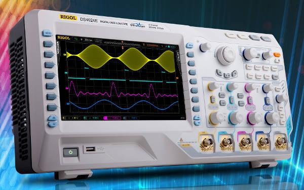 Osciloscopio DS4000E de altas prestaciones con 4 canales