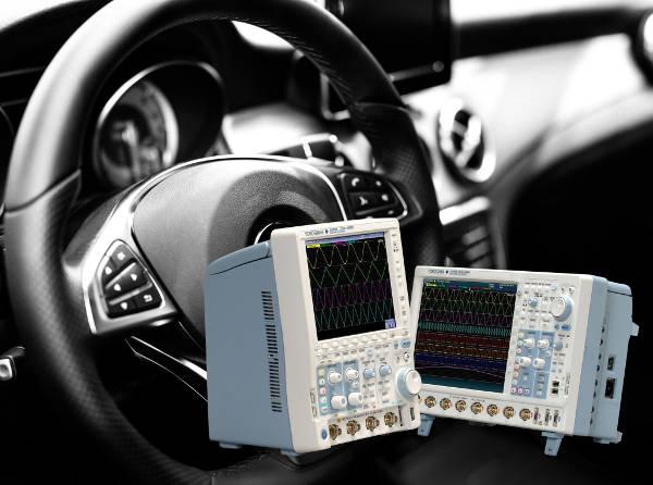 Osciloscopios con función de análisis de bus PSI5