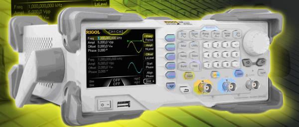 Generador de funciones arbitrarias Rigol DG1022Z