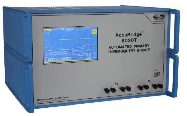Puente de termometría modelo 6015T