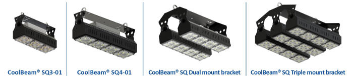 kit iluminacion led coolbeam w