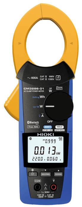 Medidor de potencia de pinza Hioki CM3286 y CM3286-01