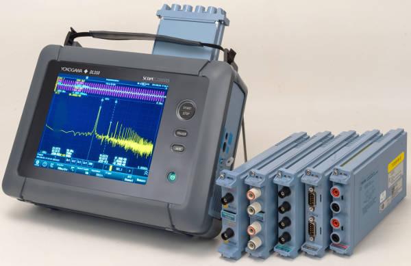 Osciloscopio ScopeCorder DL350 para automoción, electrónica, energía, transporte y mecatrónica