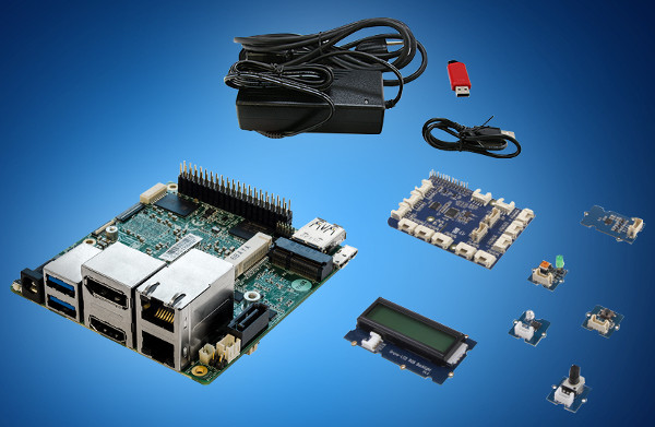 AAEON Squared Grove kit desarrollo iot w