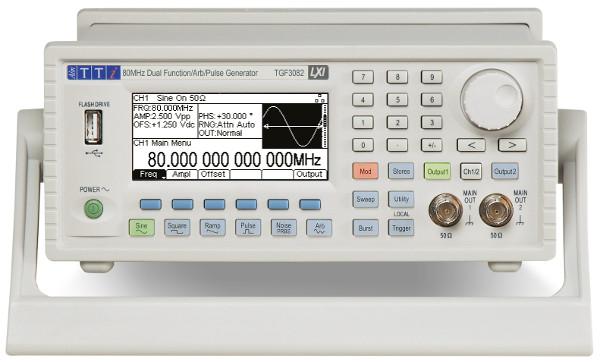 Generador de funciones arbitrarias Aim-TTi TGF3000