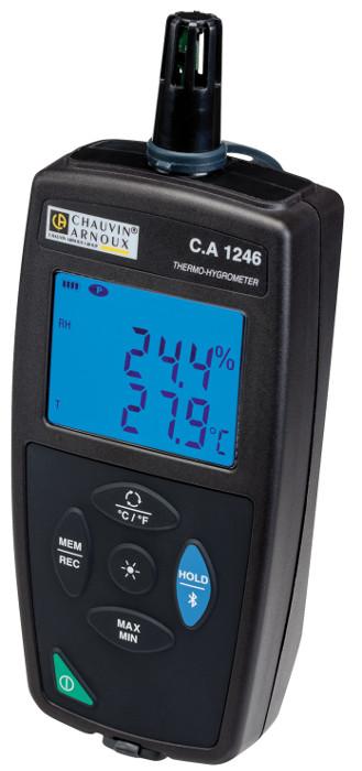 Equipos para mediciones ambientales de temperatura, humedad, iluminancia...
