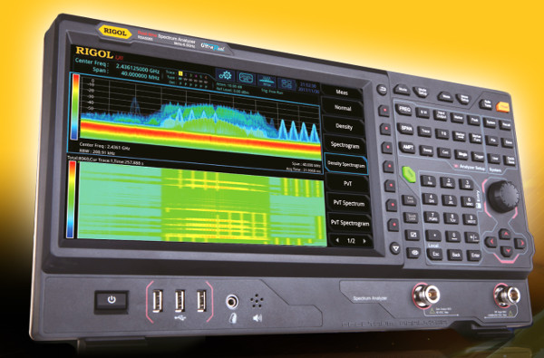 Analizadores de espectro en tiempo real Rigol RSA5000