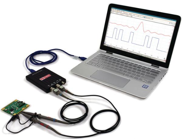 Osciloscopio de bolsillo de 20 MHz RS Pro 2205A-20