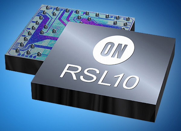 iot on semi rsl 10 bt5 soc w