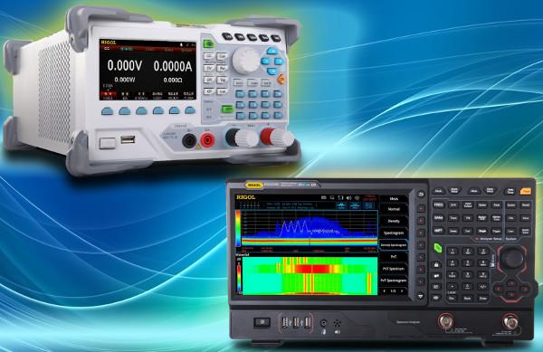 Analizadores de espectro Rigol RSA5000, cargas electrónicas Rigol DL30xx y opciones de decodificación